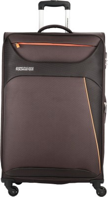 American Tourister AMT Z-STRIKE SP79CM CHOCOLATE BROWN Expandable  Check-in Luggage - 32 inch(Brown) at flipkart