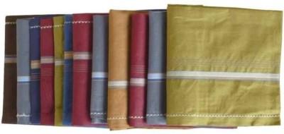 TrendZone Multicolor Mens Handkerchief Set of 12 Handkerchief [
