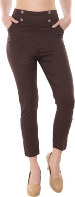 D9fashion Brown Jegging(Solid)