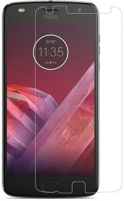 Desirtech Tempered Glass Guard for Motorola Moto Z2 Play(Pack of 1)
