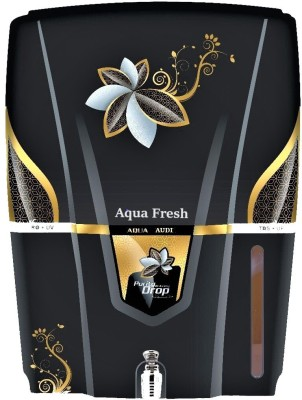 Aqua Fresh AUDI black ro+uv+uf+tds+mineral 15 L 12 L RO + UV + UF + TDS Water Purifier(Black)