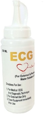 AQUATIOS GEL ECG Gel (250 ml) -Pack of 1Pc + 1 Medical Equipment Combo