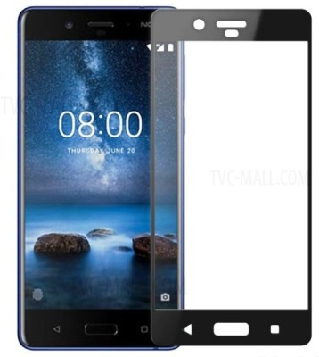 Hi Epower Tempered Glass Guard for Nokia 8(Pack of 1)
