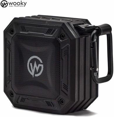 Wooky Wireless Bluetooth Portable Outdoor 5 W Bluetooth Speaker(Black, Mono Channel)