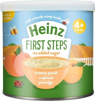 Heinz Creamy Peach & Apricot Porridge 240g Cereal(240 g, 4+ Months)