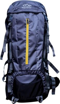 Navyug Mountain 75L Grey Hiking Backpack /Rucksack Bag (NYB2001GY) Rucksack  - 75 L(Grey)