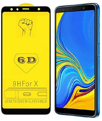 9H Edge To Edge Tempered Glass for Samsung Galaxy A7 2018 Edition(Pack of 1)