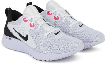 Nike WMNS LEGEND REACT Walking Shoes For Women(White, Black) at flipkart