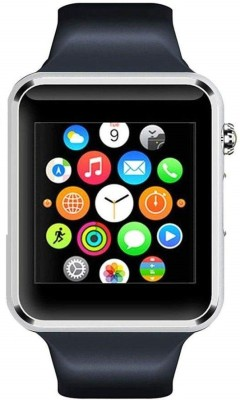 Callmate A1 Smartwatch(Black Strap Regular) at flipkart