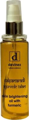 Devinez Natural Science Ayurvedic Nalpamaradi Thailam Skin Brightening Oil with Turmeric, 100ml(100 ml)