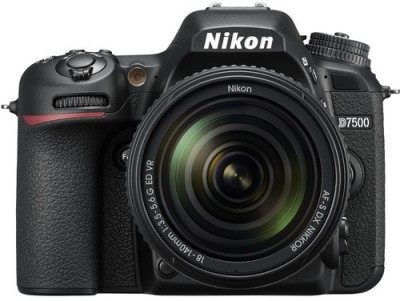 Nikon D7500 DSLR Camera Body with 18-140 mm Lens(Black)
