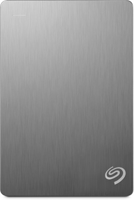 Seagate Backup Plus Portable 5 TB Wired(Silver) at flipkart