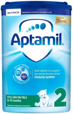 Aptamil 2 Follow On Milk(800 g, 6+ Months) at flipkart