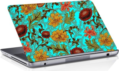 RADANYA Floral Skin Vinyl Laptop Decal 15.6