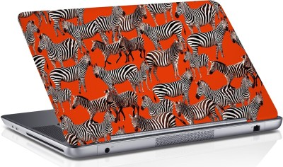 RADANYA Zebra Skin Vinyl Laptop Decal 15.6
