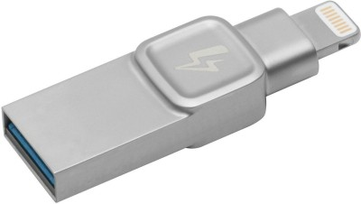 Kingston C-USB3L-SR64G-EN 64 GB OTG Drive(Grey, Type A to Lightning) at flipkart