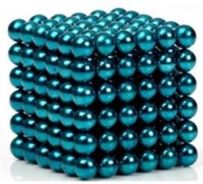 eDUST Aqua Green Color Magnetic Balls (3mm 216 balls) Magnetic Toys 3D Puzzle Stress Relief(216 Pieces)