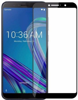 Classy Edge To Edge Tempered Glass for Asus Zenfone Max Pro M1(Pack of 1)