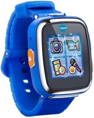 VTech Kidizoom Smartwatch DX (Royal Blue) Smartwatch(Purple Strap NA)