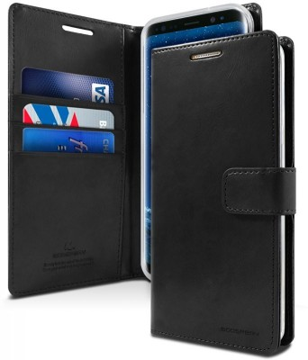 Vodex Flip Cover for Samsung Galaxy S9 Plus(Black, Shock Proof)