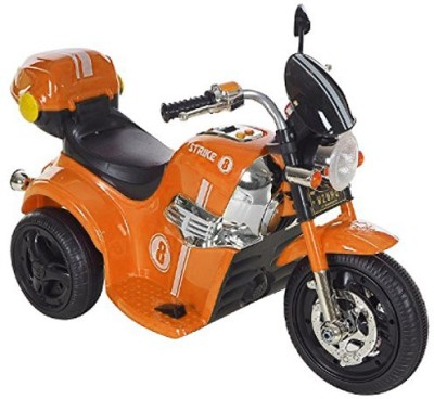 Toyhouse Samurai Strike 8 Rechargeable Battery Operated Ride on Bike for kids(2 to 4yrs) Orange Bike Battery Operated Ride On(Orange)