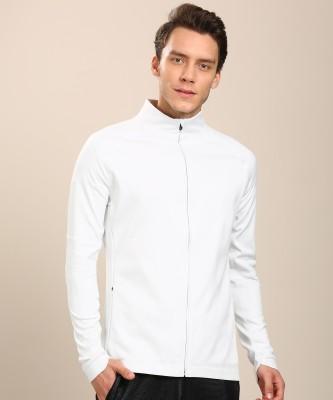 ADIDAS Full Sleeve Solid Men Jacket at flipkart