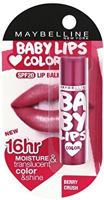 Maybelline Baby lips (SPF 20) Lip Balm Berry Crush(Pack of: 1, 4 g)