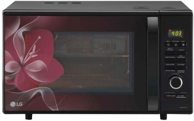 LG 28 L Convection Microwave Oven(MJ2886BWUM.DBKQILN, Black)
