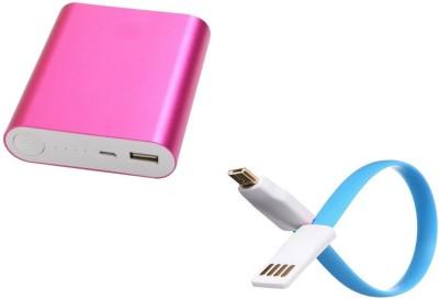 CRAWL 15000 mAh Power Bank Pink, Lithium ion