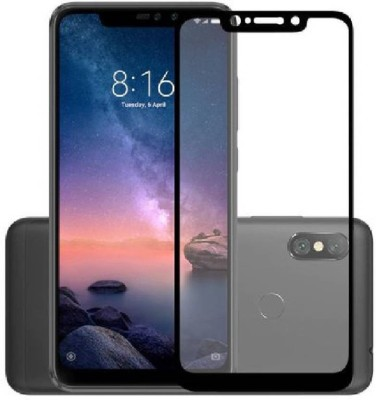 Power Edge To Edge Tempered Glass for Mi Redmi Note 6 Pro(Pack of 1)