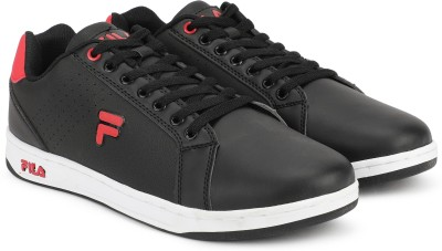 38141b2a3 Fila SLATE Sneakers For Men(Black, Red) best price on Flipkart @ Rs