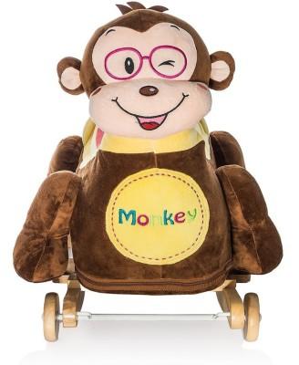 Dimpy Stuff Monkey Plush Rocker   60 cm Multicolor Dimpy Stuff Soft Toys