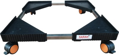 Sarah Adjustable (With Stainless Steel Joint pipe) Top Loading Semi/Fully Automatic Washing Machine Stand / Washing Machine Trolley
