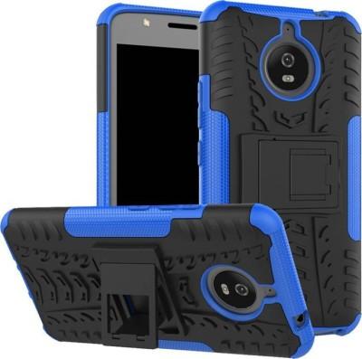 BESTTALK Back Cover for Motorola Moto E4 Plus Blue, Shock Proof BESTTALK Plain Cases   Covers