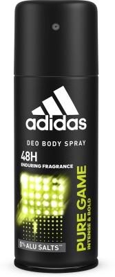 ADIDAS Pure Game Intense & Bold Deodorant Deodorant Spray  -  For Men  (150 ml)