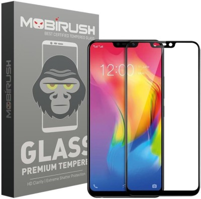 MOBIRUSH Edge To Edge Tempered Glass for Vivo Y83(Pack of 1)