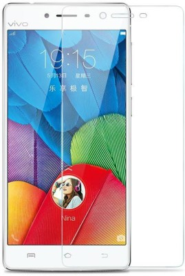 Fashion Fobia Tempered Glass Guard for Vivo Y21(Pack of 1)
