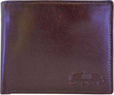 Arpera Men Brown Genuine Leather Wallet(6 Card Slots)  available at flipkart for Rs.1175