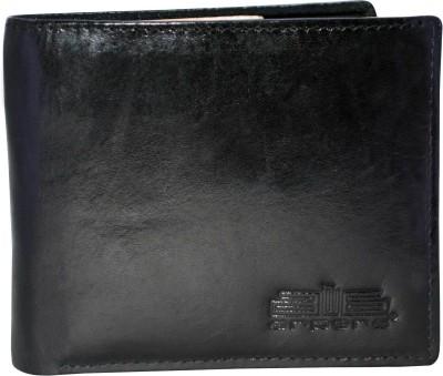 Arpera Men Formal Black Genuine Leather Wallet 4 Card Slots Arpera Wallets