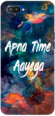 COBIERTAS Back Cover for Realme 2 Pro(Multicolor Gully Boy Inspired Apna Time Aayega Designer Print Printed Design, Hard Case)