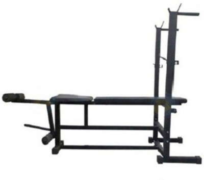 SPIRO 6 in 1 ( With 310 Kg. Holding Capacity ) Multipurpose Fitness Bench