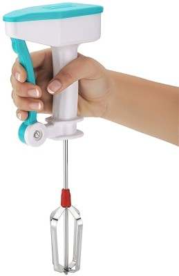 Plenzo Egg Beater Lassi Butter Milk Maker Mixer Power Free Hand Blender 0 W Hand Blender(Multicolor)