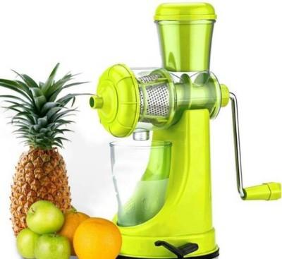 Tryviz Plastic Hand Juicer Fruit And Vegetable Juicer(Multicolor Pack of 1)