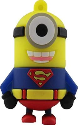 Tobo Super Man Shape minion pen Drive 8Gb  8  GB Pen Drive Yellow Tobo Pen Drives