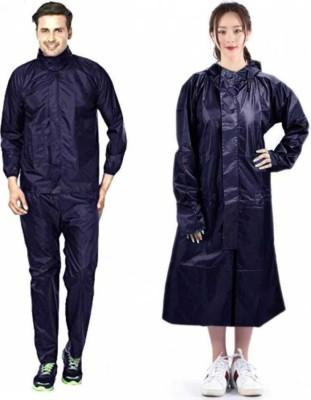 Supreme Home Collective Solid Men & Women Raincoat