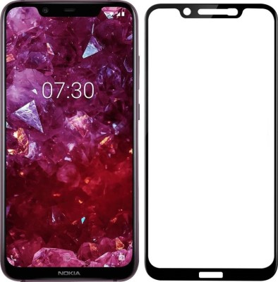 Rigid Tempered Glass Guard for Nokia X7(Pack of 1)