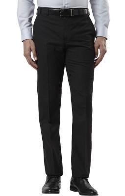 Raymond Regular Fit Men's Grey Trousers