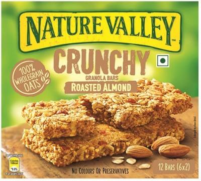 Nature Valley Roasted Almond Crunchy Granola Bars(252 g, Box) at flipkart