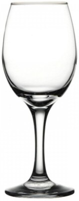 PASABAHCE  Pack of 6  Basic Wine Goblet crystal clear glass Glass Set 310 ml, Glass PASABAHCE Bar Glasses