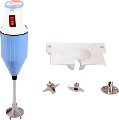 SHREE JUMBO BIG BLENDER 350 W Hand Blender(White and blue)
